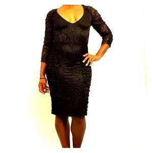 Elegant bunch laced dress